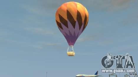 Balloon Tours option 1 for GTA 4 left view