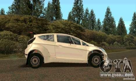 Ford Fiesta Rally for GTA San Andreas wheels
