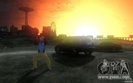 Menu and boot screens of Liberty City in GTA 4 for GTA San Andreas eighth screenshot