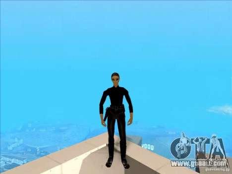 Matrix Skin Pack for GTA San Andreas third screenshot