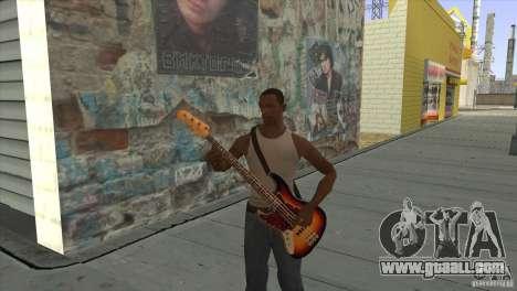 MOVIE songs on guitar for GTA San Andreas ninth screenshot