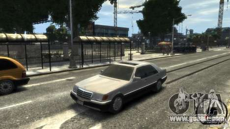 Mercedes-Benz 600SEL wheel1 tinted for GTA 4