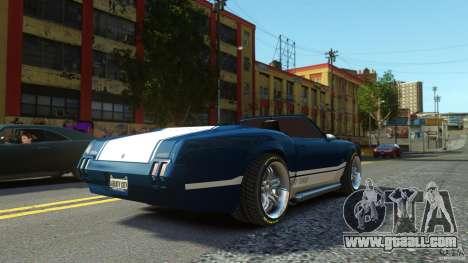 Sabre GT II Vinyl Roof for GTA 4 left view