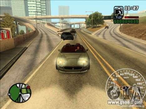 Spyder Cambriocorsa for GTA San Andreas back left view