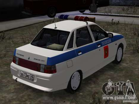VAZ 2110 DPS for GTA 4 back left view