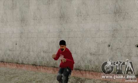 Skin substitute Bmyst for GTA San Andreas fifth screenshot