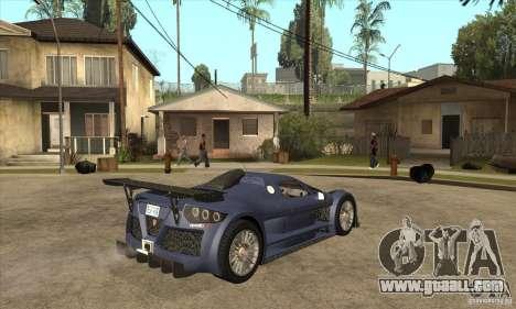 Gumpert Apollo Sport for GTA San Andreas right view
