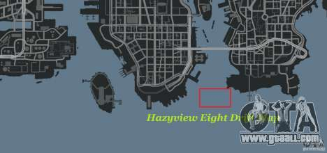 Hazyview Eight Drift Map for GTA 4 sixth screenshot