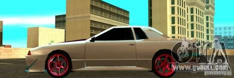 Elegy Drift Masters Final for GTA San Andreas left view