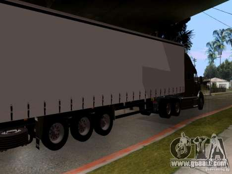 Peterbilt 389 for GTA San Andreas right view