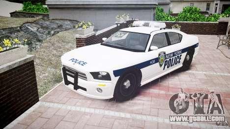 FIB Buffalo NYPD Police for GTA 4 back view