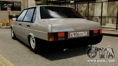 Vaz-21099 for GTA 4 back left view