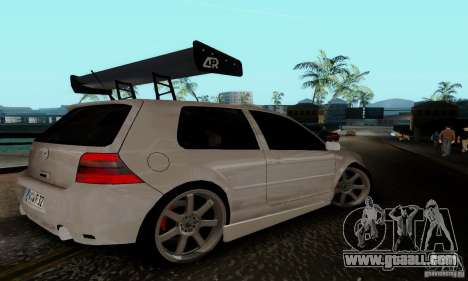 Volkswagen Golf 4 for GTA San Andreas right view