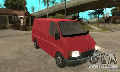 Ford Transit for GTA San Andreas inner view