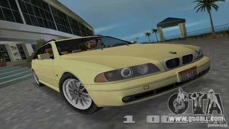 BMW 5S Touring E39 for GTA Vice City