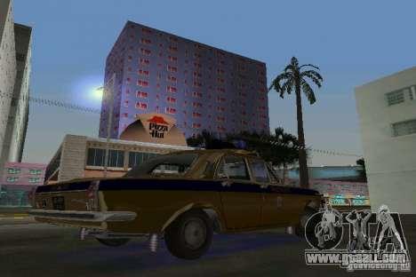 Gaz-24 Militia for GTA Vice City right view