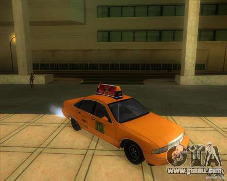 Chevrolet Caprice Taxi 1991 for GTA San Andreas right view