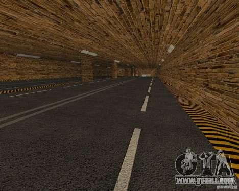 New roads for GTA San Andreas forth screenshot