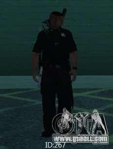 New skins SAPD for GTA San Andreas forth screenshot