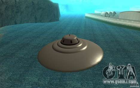Bob Lazar Ufo for GTA San Andreas