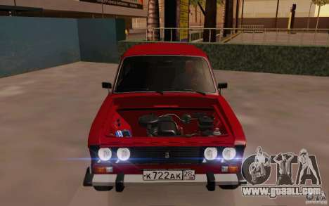 VAZ 2106 Drain for GTA San Andreas side view
