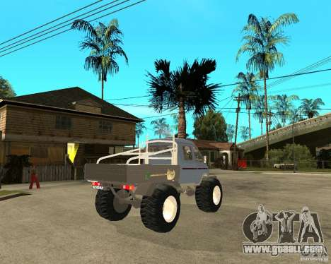 GAS KeržaK (Swamp Buggy) for GTA San Andreas back left view