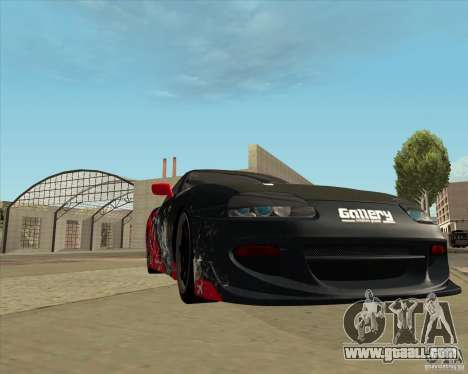 Toyota Supra by Cyborg ProductionS for GTA San Andreas side view