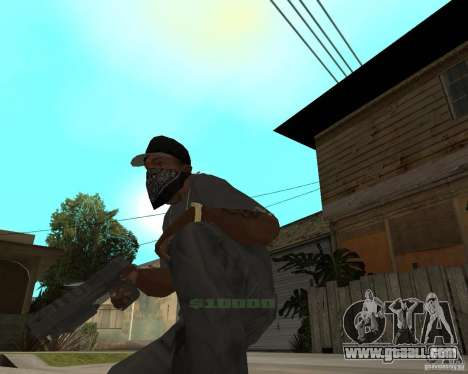 Desert Eagle from CoD: MW2 for GTA San Andreas second screenshot