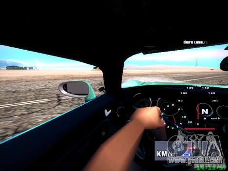 Pontiac Solstice Falken Tire for GTA San Andreas upper view