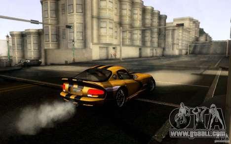 Dodge Viper GTS Coupe TT Black Revel for GTA San Andreas right view