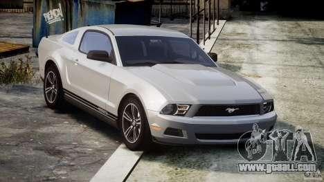 Ford Mustang V6 2010 Premium v1.0 for GTA 4 inner view