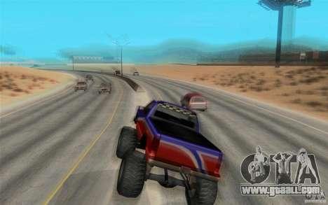 Maximum speed for GTA San Andreas