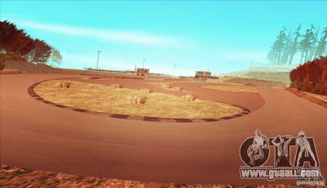 The Ebisu South Circuit for GTA San Andreas third screenshot