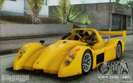 Radical SR3 RS 2009 for GTA San Andreas