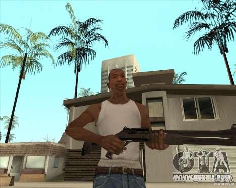 Automatic shotgun for GTA San Andreas third screenshot