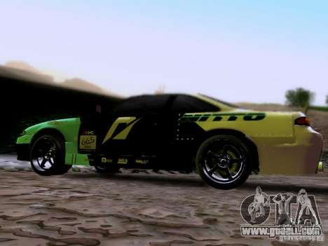 Nissan Silvia S14 Matt Powers v4 2012 for GTA San Andreas left view