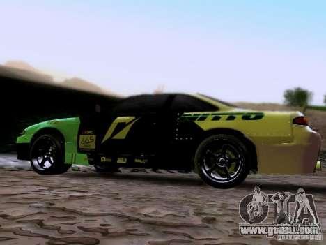 Nissan Silvia S14 Matt Powers v4 2012 for GTA San Andreas left view