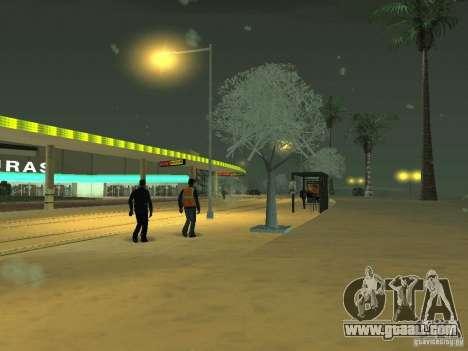 Snow v 2.0 for GTA San Andreas fifth screenshot