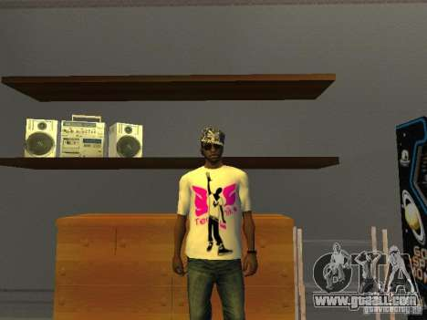 Tectonic T-shirt for GTA San Andreas