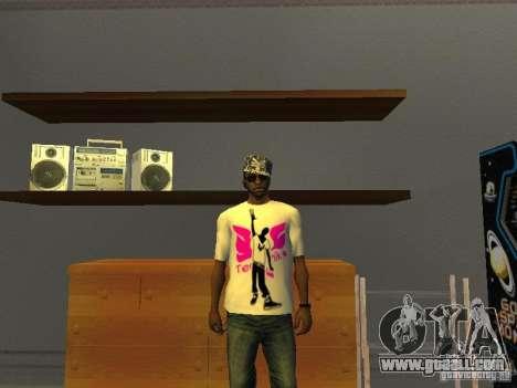 Tectonic T-shirt for GTA San Andreas