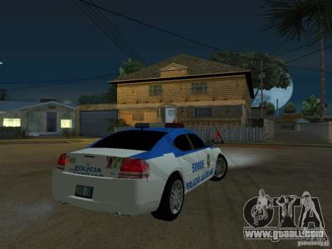 Dodge Charger Police for GTA San Andreas right view