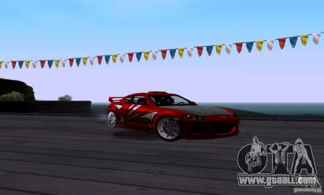 Mazda RX-8 Speed for GTA San Andreas back view