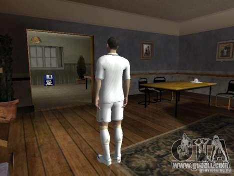 Cristiano Ronaldo for GTA San Andreas second screenshot