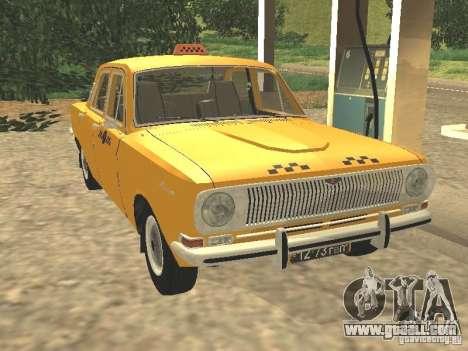 GAZ 24-01 Taxi for GTA San Andreas