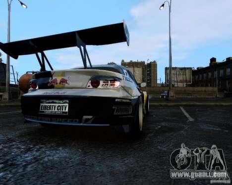 Mazda RX8 Redbull for GTA 4 left view