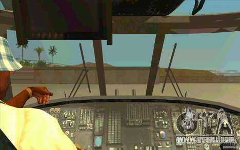 New Raindance for GTA San Andreas inner view