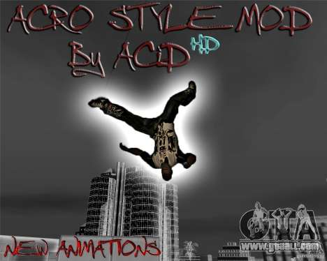 ACRO Style mod by ACID for GTA San Andreas