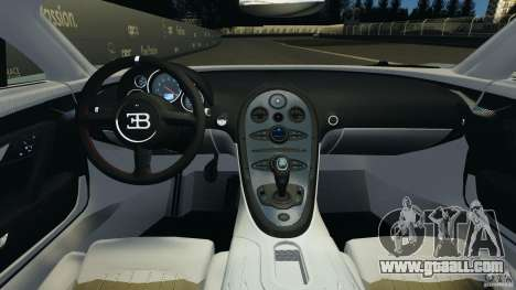 Bugatti Veyron 16.4 Super Sport 2011 v1.0 [EPM] for GTA 4 back view