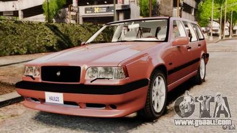 Volvo 850 Wagon 1997 for GTA 4