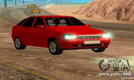 LADA priora van for GTA San Andreas side view
